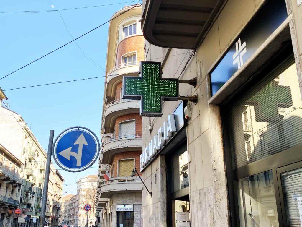 Farmacia Torino Scotti - ingresso 1