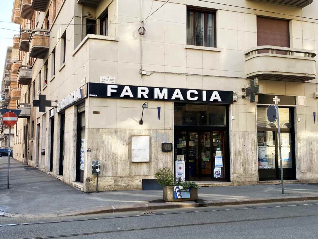 Farmacia Torino Scotti - ingresso 2