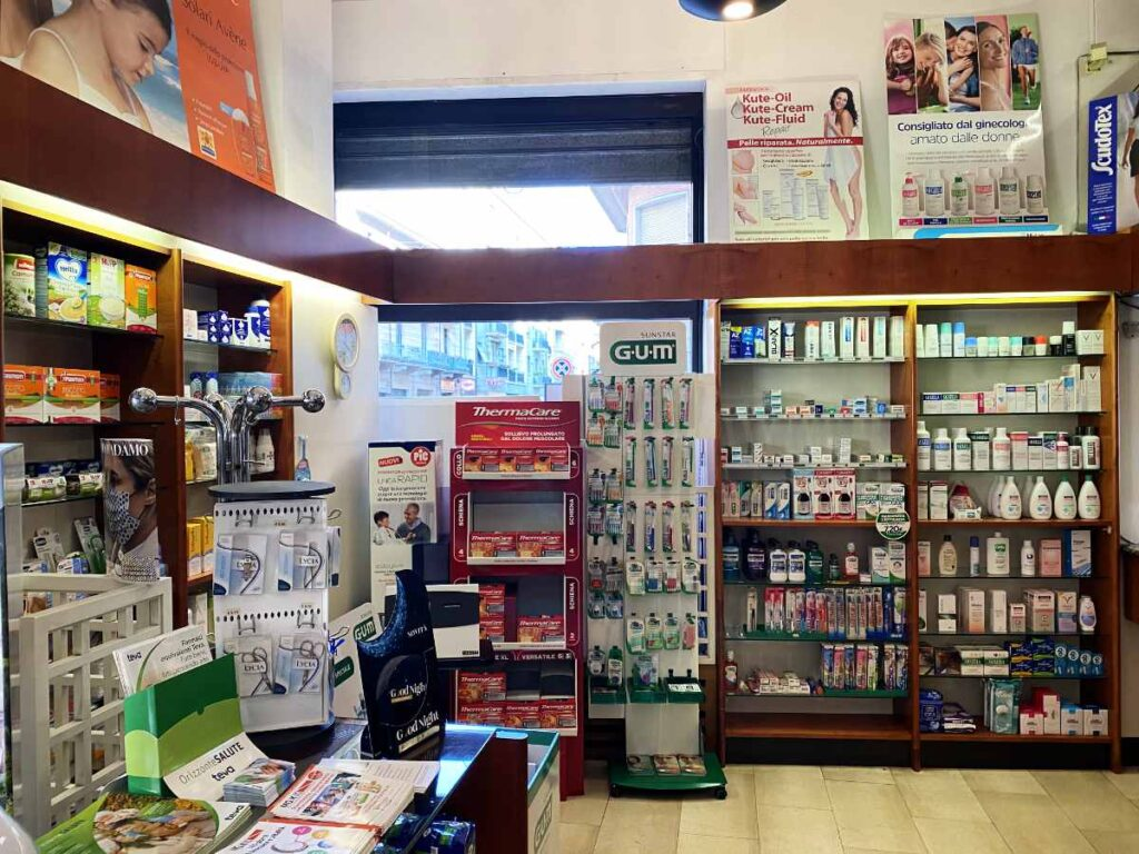 Farmacia Torino Scotti - interno 1